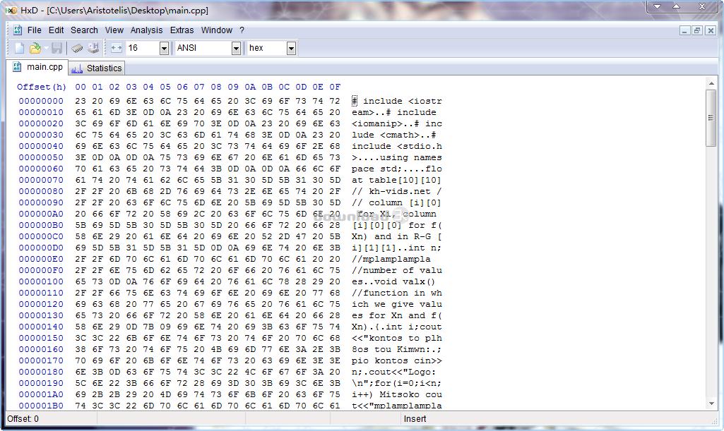 Download HxDSetup zip Free - HxD 2 3 0 0 install file