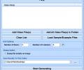 Video Thumbnail Generator Software Screenshot 0