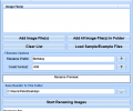 Batch Rename Digital Photos Software Screenshot 0