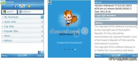 UC Browser for Symbian 9 2 0 336 Quick review - Free
