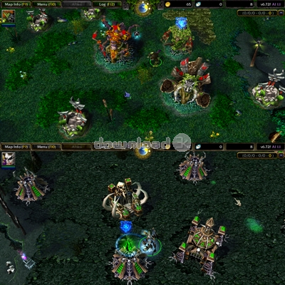 DotA Allstars - Warcraft III Map 6 88x7c Quick review - Free