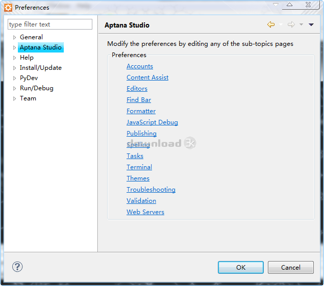 Download Aptana_Studio_3_Setup exe Free - Aptana Studio 3 7