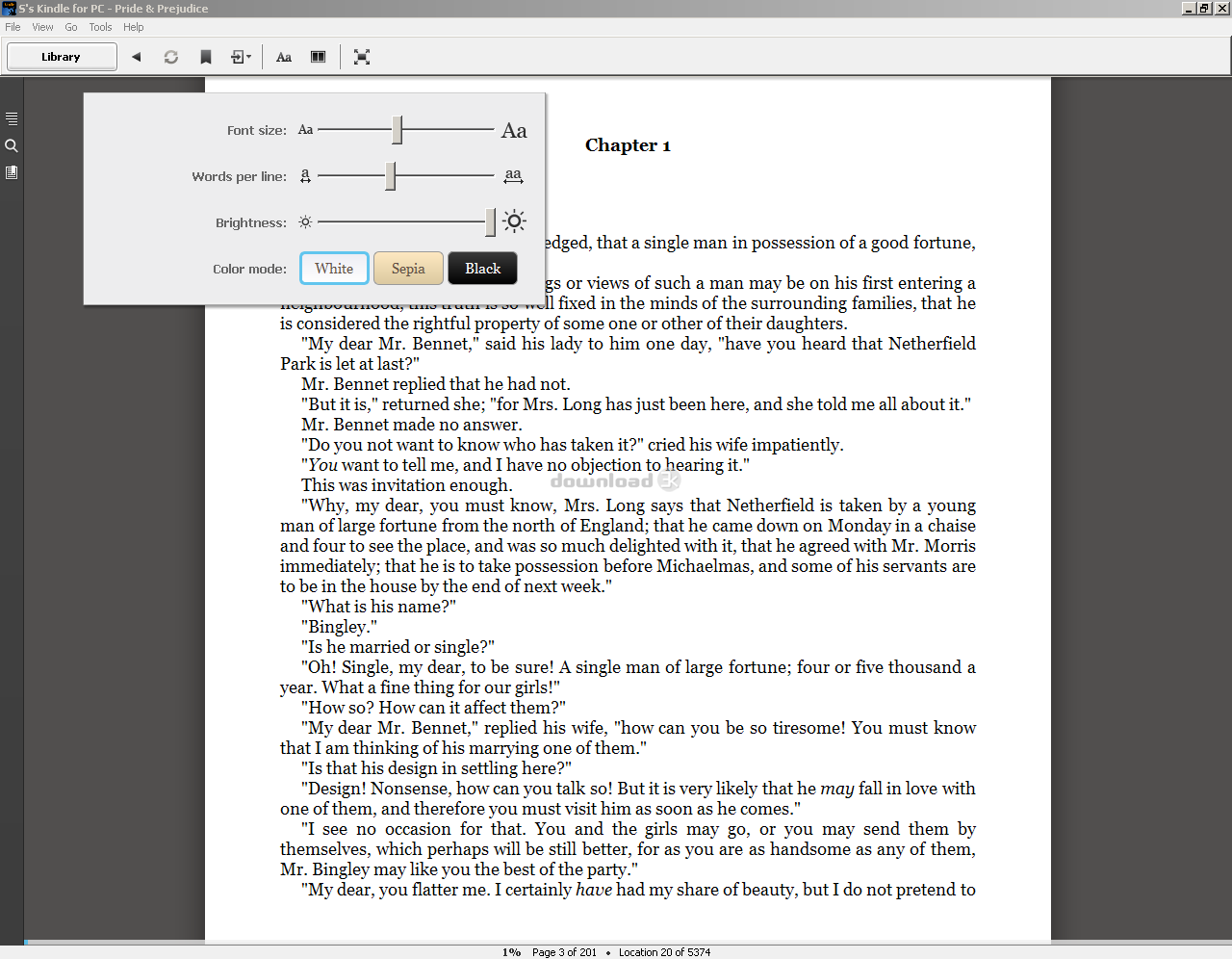 Kindle for PC 1 26 55076 Review & Alternatives - Free