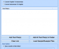 English To Indonesian and Indonesian To English Converter Software Screenshot 0