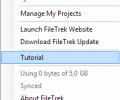 Filetrek Screenshot 2