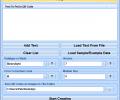 Create Multiple QR Codes Software Screenshot 0