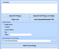 CSV To Fixed Width Text File Batch Converter Software Screenshot 0