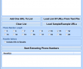 Extract Phone Numbers From Web Sites Software Screenshot 0