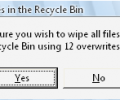 Recycle Bin Wiper Screenshot 2