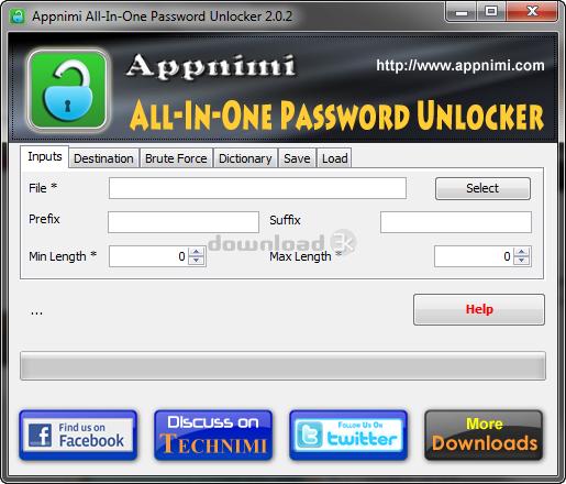 appnimi all in one password unlocker free download
