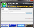 Appnimi All-In-One Password Unlocker Screenshot 3