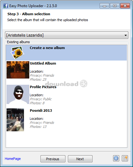 Easy Photo Uploader for Facebook 3 1 1 0 Review