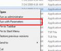 Run with Parameters Screenshot 0