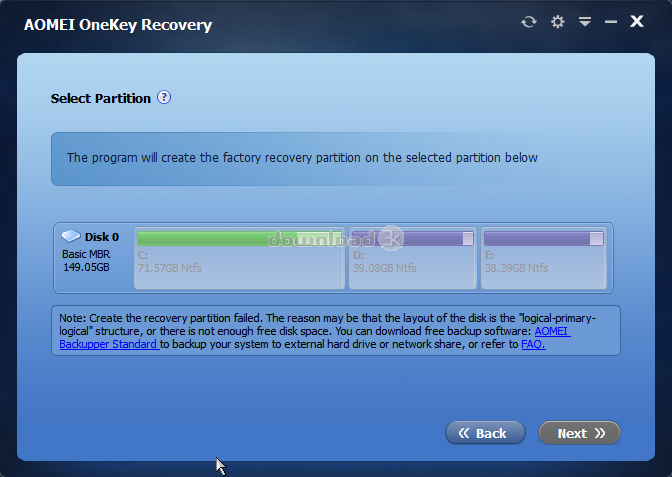 aomei onekey recovery activator