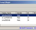 SkypeContactsView Screenshot 0