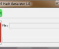 Appnimi MD5 Hash Generator Screenshot 0