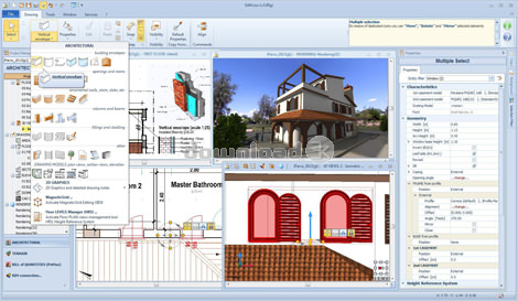 Edificius v600p quick review free download free upp for 3d architecture software reviews