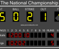 Baseball Scoreboard Pro Screenshot 0