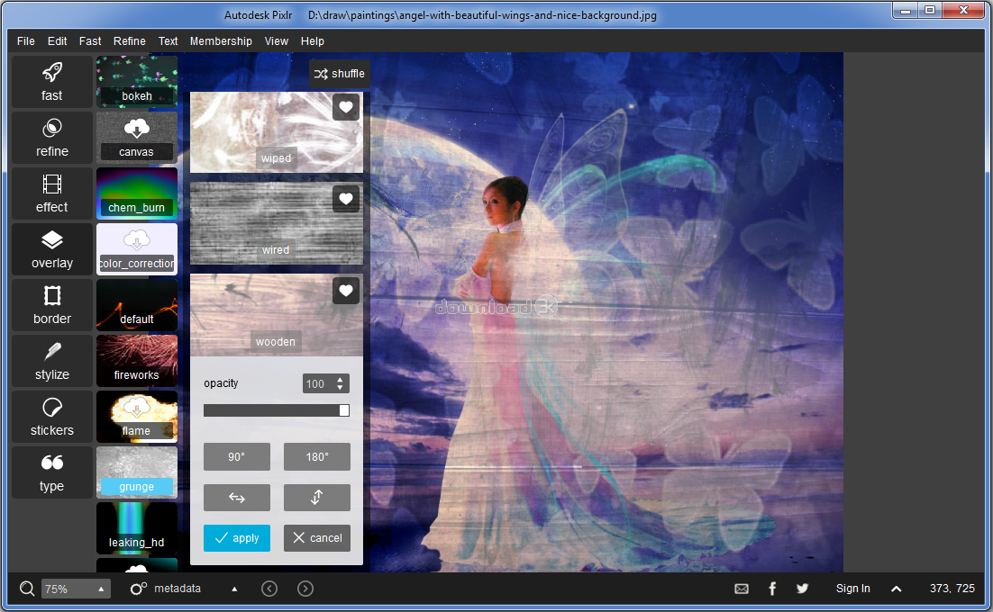 Autodesk Pixlr 1 1 1 0 Review & Alternatives - Free trial