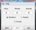 Turn Off Timer Portable Screenshot 0