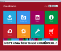 CloudBacko Lite for Windows Screenshot 0