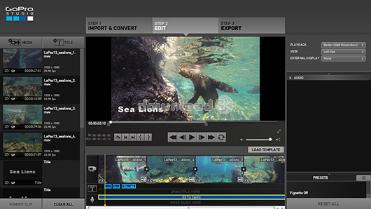 GoPro Studio 2.5.6 Review & Alternatives - Free download - Import ...