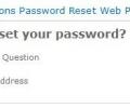 SharePoint Password Reset Screenshot 0