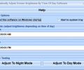 Automatically Adjust Screen Brightness By Time Of Day Software Screenshot 0