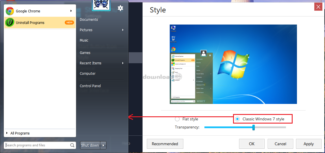 start menu 8 license key