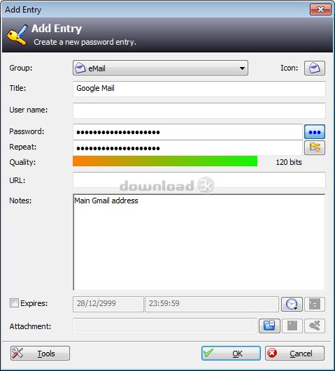 KeePass (2 x) 2 42 1 Review & Alternatives - Free download - KeePass