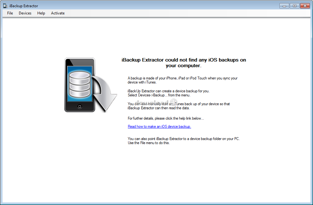 Download iBackupExtractorSetup exe Free trial - iBackup
