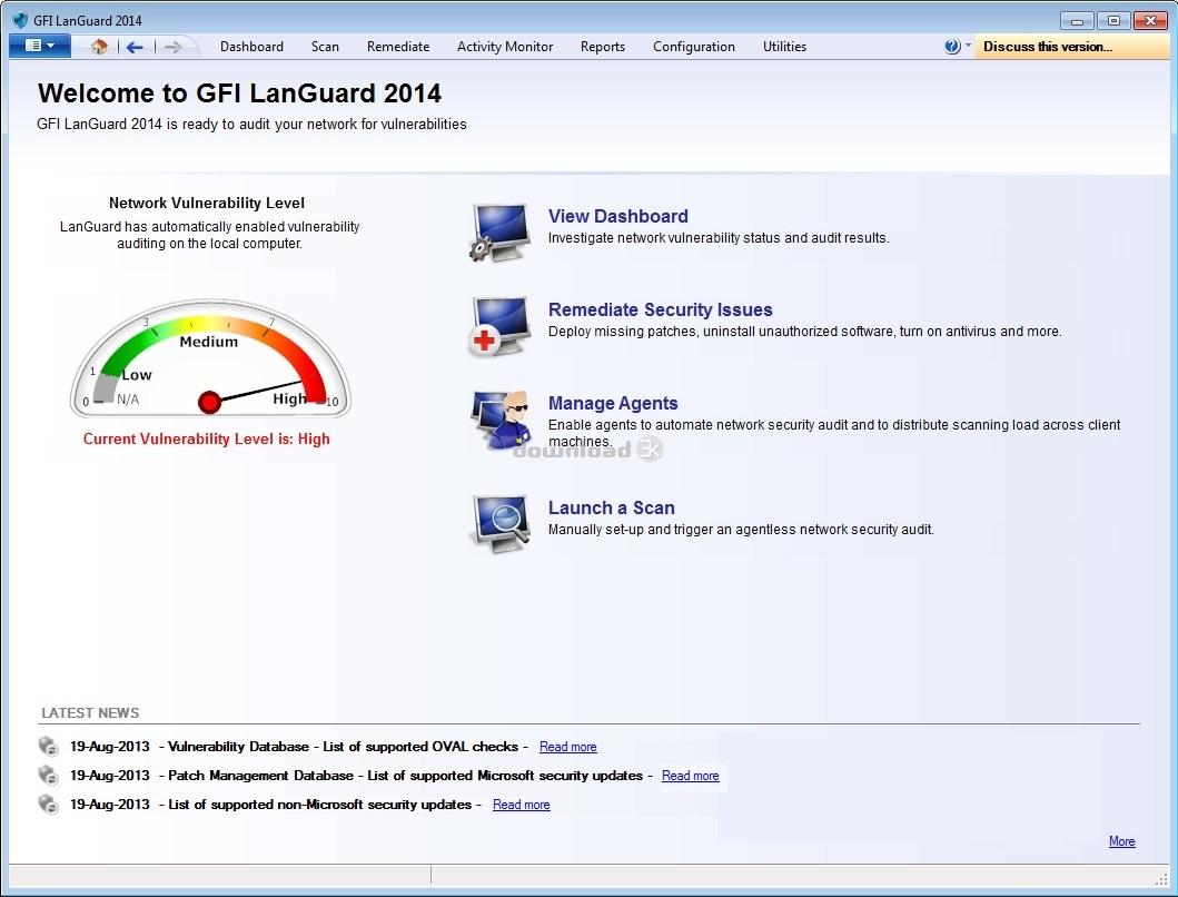 Gfi languard network security scanner v9. 0. 20081118 incl. Keygen.