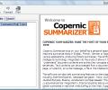 Copernic Summarizer Screenshot 1