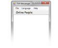 TSR LAN Messenger Screenshot 0