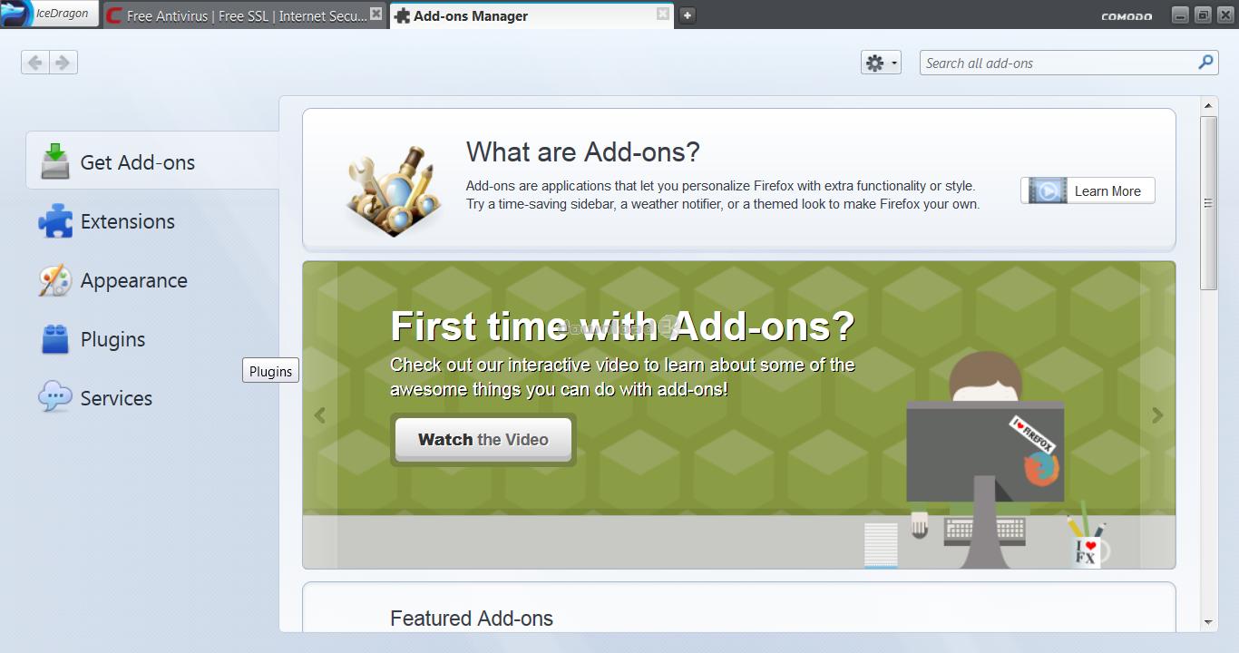 Comodo IceDragon 65 0 2 15 Review & Alternatives - Free